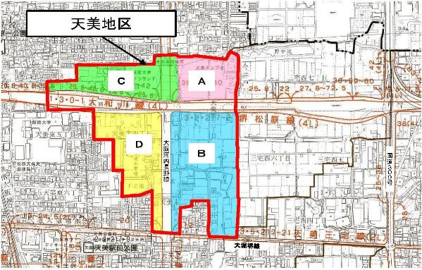 アリオ松原の建設予定地1