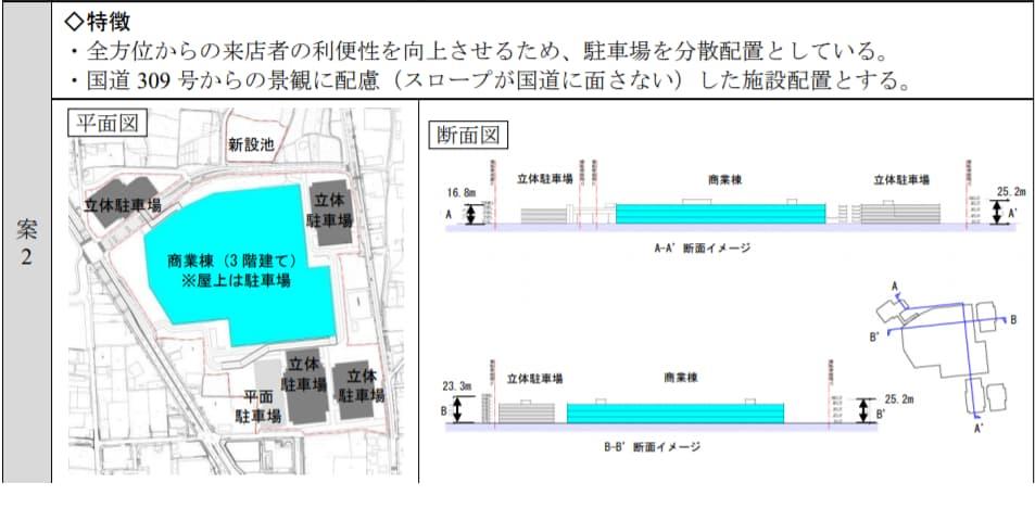 ららぽーと美原 施設計画案2