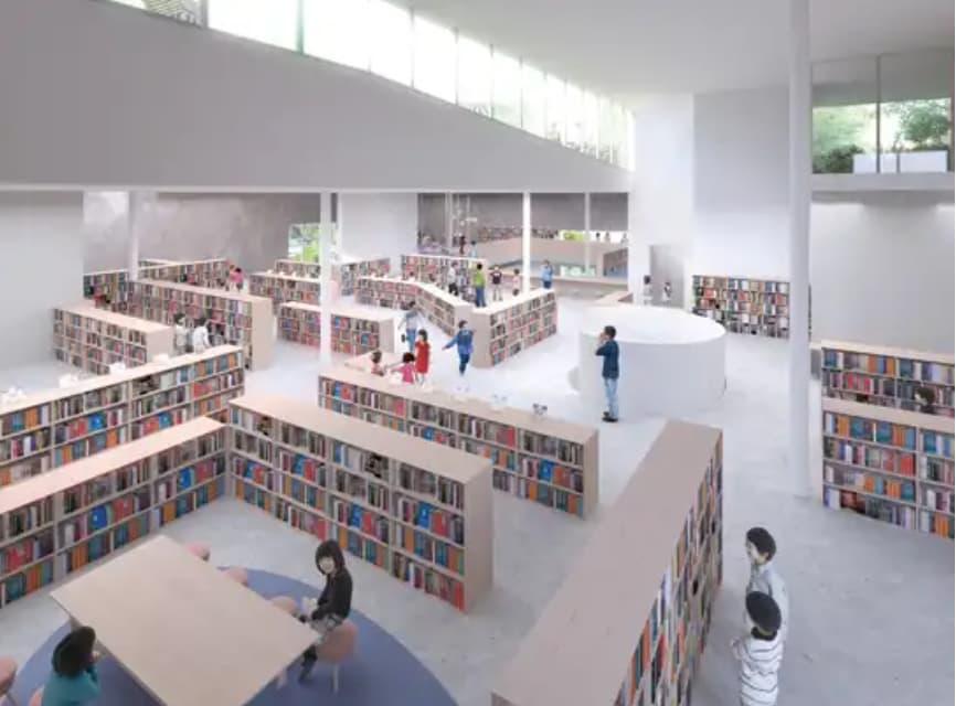 松原市図書館のリニューアル後のイメージ6